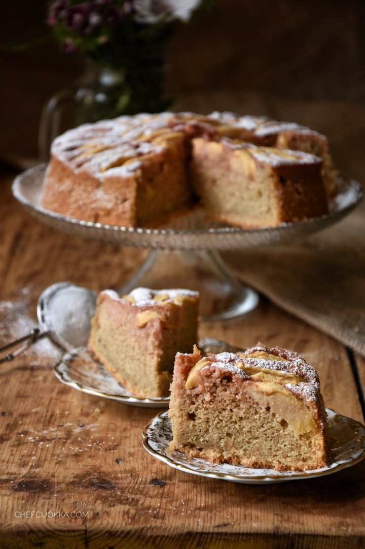 Torta Barbabietola e Mele
